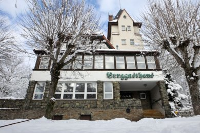 Das 1911 erbaute Berggasthaus auf dem Pfaffenberg.