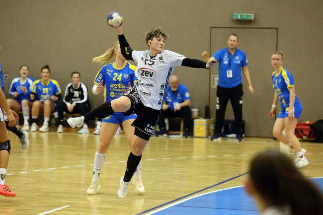 Die Handballerinnen aus Zwickau konnten sich im Sachsenderb durchsetzen.