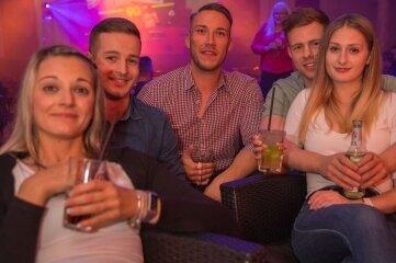 Durften zwar nicht tanzen, hatten aber trotzdem Spaß: Franziska (v. l.), Kevin, Ken, Erik und Kristin.