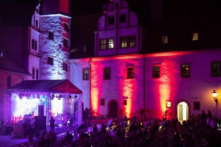 Das Glauchauer Doppelschloss beteiligt sich auch in diesem Jahr wieder an der Nacht der Schlösser.