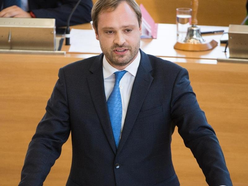 Generalsekretär Alexander Dierks (CDU).