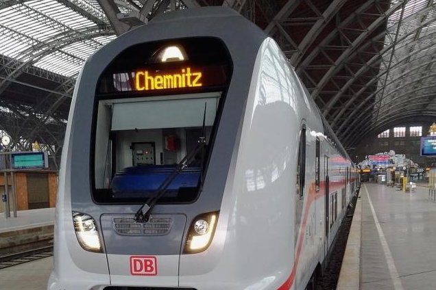 2028 soll der Intercity zwischen Chemnitz und Leipzig rollen