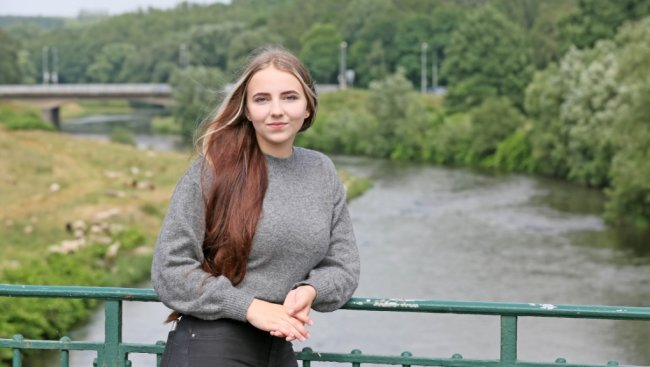Nici Grimm ist Schülerin am Käthe-Kollwitz-Gymnasium. Doch ihr nächstes Schuljahr verbringt sie nicht an ihrer Zwickauer Schule, sondern wird für ein Jahr in den Vereinigten Staaten lernen.
