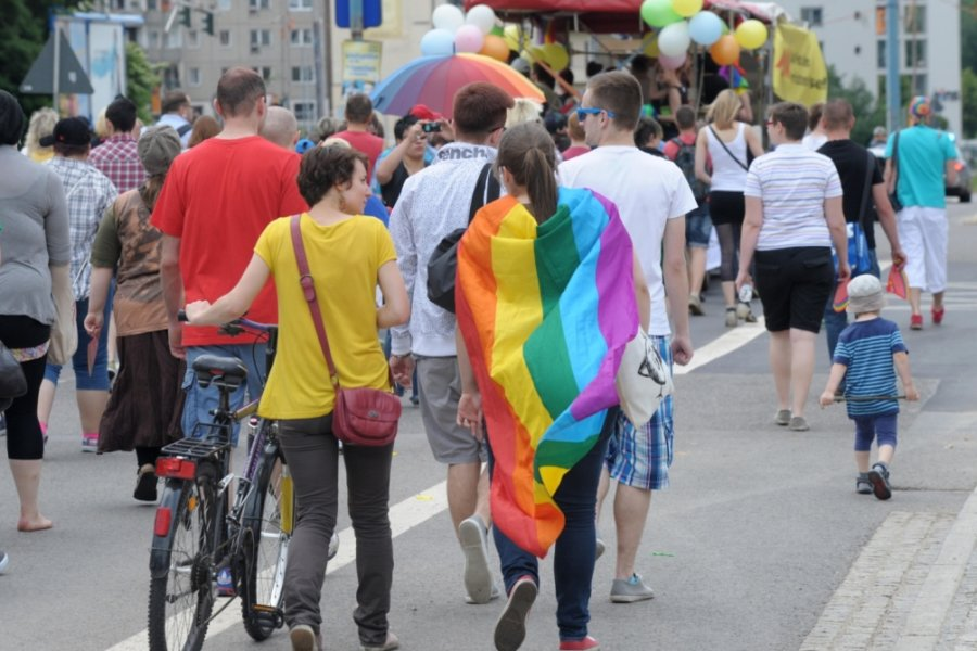 Tüdelü-Festival in Regenbogenfarben