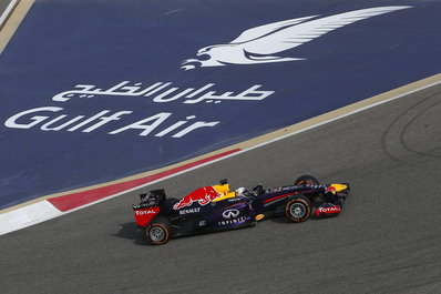 Vettel und die Spazierfahrt zum Sieg in Bahrain