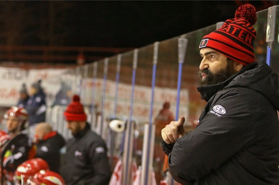 Mit Mario Richer landeten die Eispiraten nach der Hauptrunde in der abgelaufenen Serie auf dem neunten Platz.