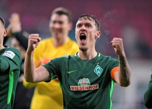 Soll bei Werder verlängern: Kapitän Max Kruse