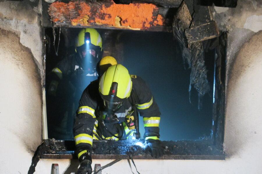 Nach Brand in Gästezimmer - Anbau derzeit unbewohnbar