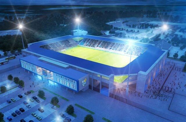 So sieht der neue Stadion-Entwurf aus.