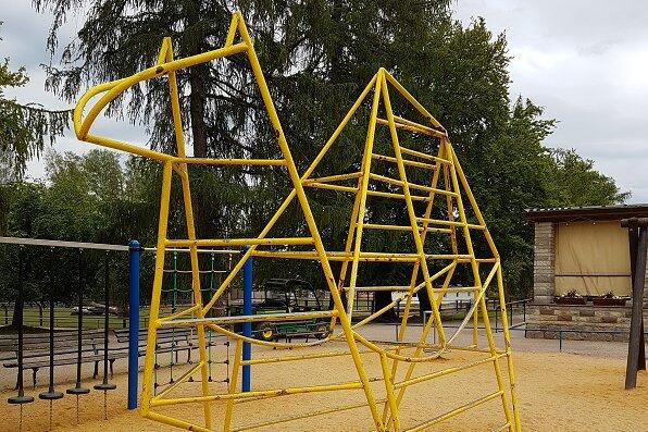 Tierpark Hirschfeld: Kletter-Dromedar hat ausgedient