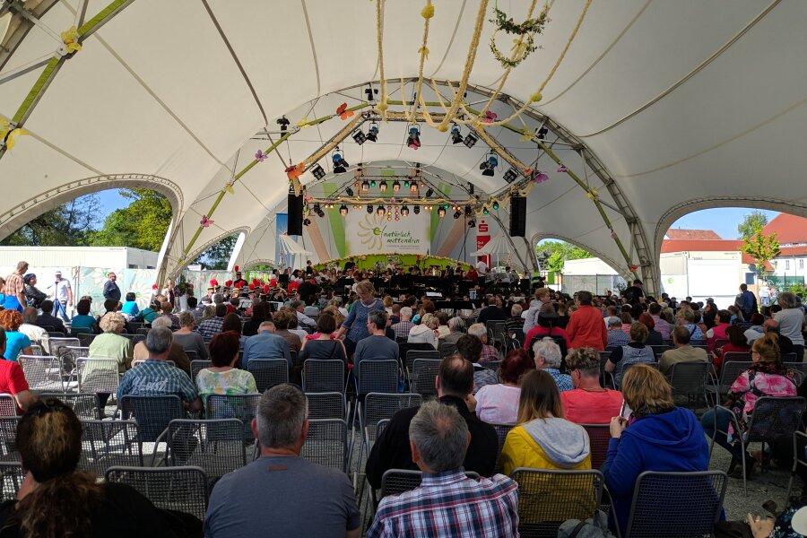 Frankenberger Musiktage auf der Landesgartenschau