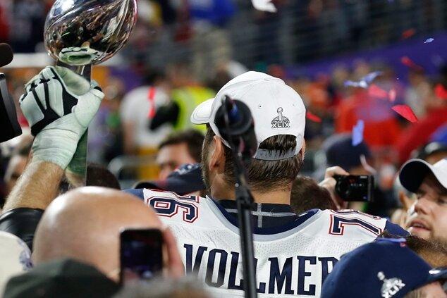 Sieg mit Patriots - Vollmer erster deutscher Super Bowl-Champion