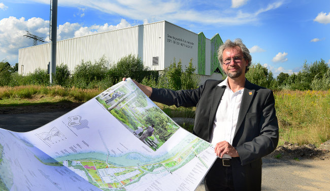 Frankenbergs Beigeordneter Ralf-Peter Regner, hier auf dem Areal der Landesgartenschau, war im vorigen und diesem Jahr oft im Zusammenhang mit Projekten des Gartenfestivals in Erscheinung getreten. Nun geht es im Stadtrat um die mögliche Abwahl des Beigeordneten.