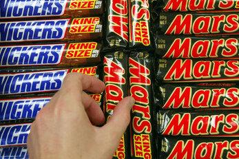 Mars ruft Millionen Schokoriegel zurück