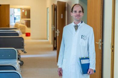Prof. Dr. Carl Christoph Schultz ist der ärztliche Direktor am Landeskrankenhaus in Rodewisch. Dort hatte es einen Corona-Ausbruch gegeben.
