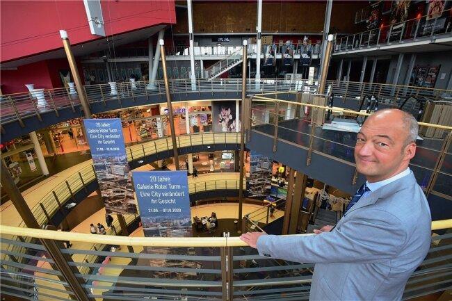 "Jörg Knöfel, Centermanager Galerie ""Roter Turm""."