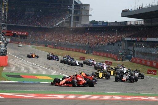 Die Formel 1 kommt am 28. Juli 2019 zum Deutschland GP