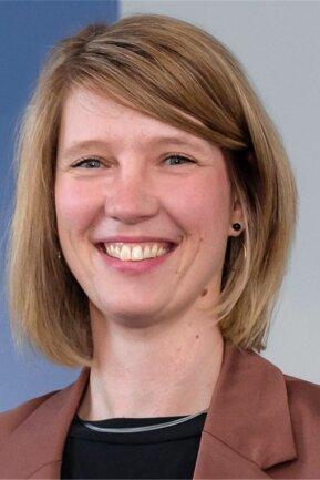 Cindy Krause, Geschäftsführerin der IHK Chemnitz, Regionalkammer Mittelsachsen.