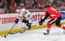 Kahun (l.) gelingt Torpremiere in der NHL