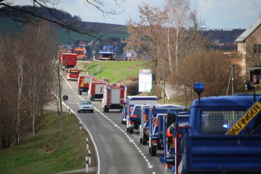 Kolonnenfahrt: 178 Kilometer durch Mittelsachsen