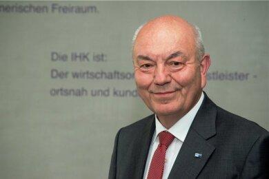 IHK-Präsident Dieter Pfortner