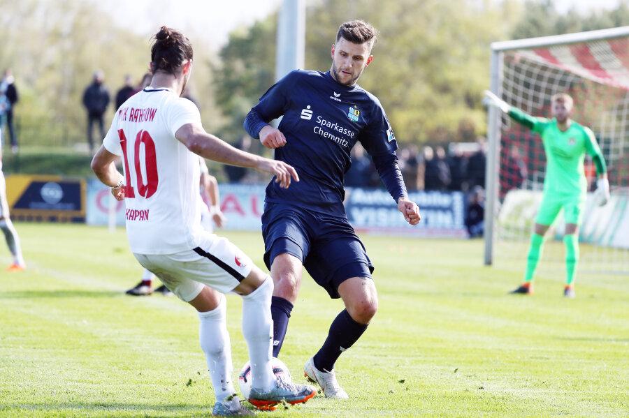 Elfter Sieg in Serie: Chemnitzer FC gewinnt 4:0 in Rathenow