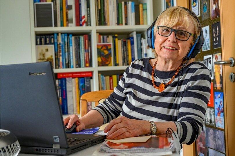 Christine Bauer, Mitorganisatorin des Seniorenkollegs an der TU Chemnitz.