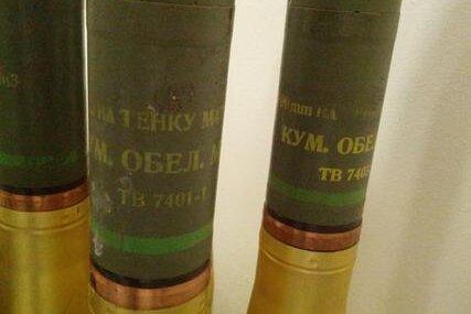 Bundespolizei zieht Hülsen von 18 Artilleriegranaten aus dem Verkehr