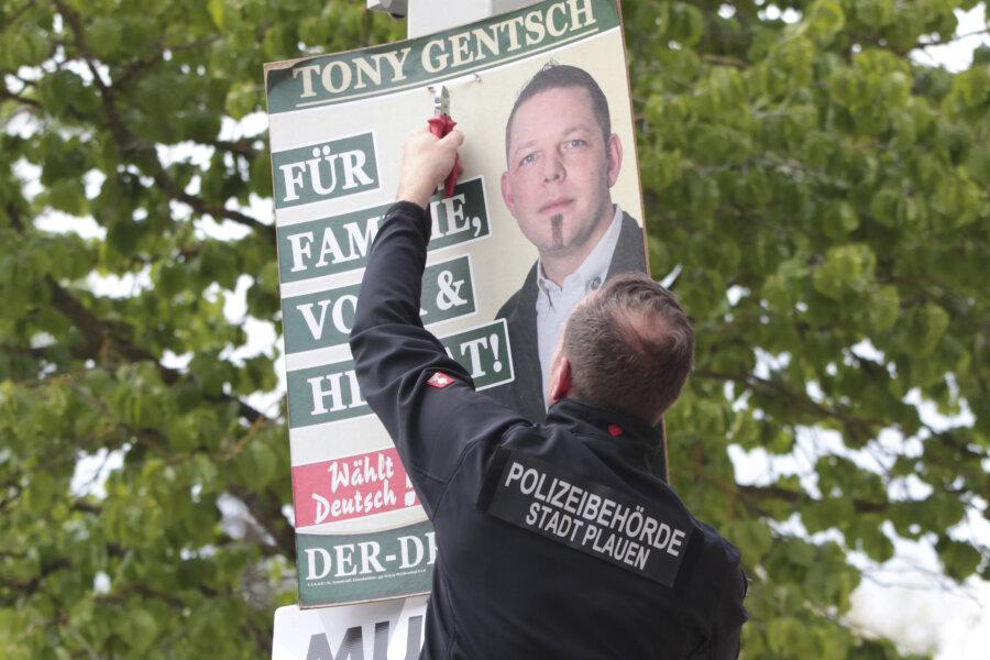 Stadtverwaltung entfernt Wahlplakate