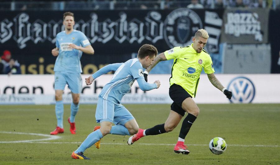 Heimpleite für den CFC: 1:4 verloren die Himmelblauen am Dienstag gegen Wiesbaden.
