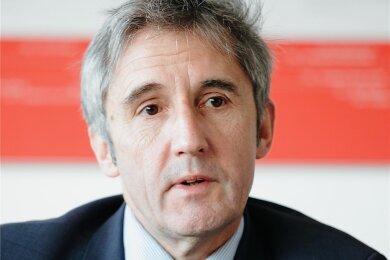 Frank Richter, Mitglied des Landtages - als Parteiloser für die SPD.