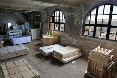 Das Dachgeschoss des Speichers diente in der Vergangenheit auch als Lager. Doch nun haben Statiker festgestellt, dass die Tragfähigkeit nicht ausreicht, um dort einen Besprechungsraum einzurichten.