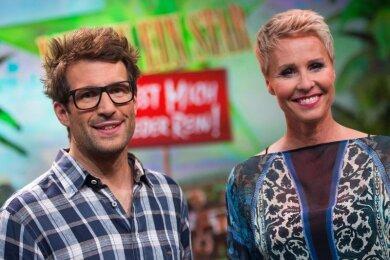 Die Moderatoren Sonja Zietlow und Daniel Hartwich.