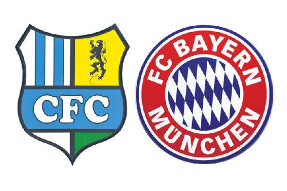 Premiere: Der Chemnitzer FC gegen die Bayern im DFB-Pokal.