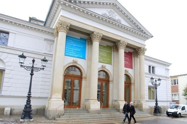 Das Theater in Plauen.