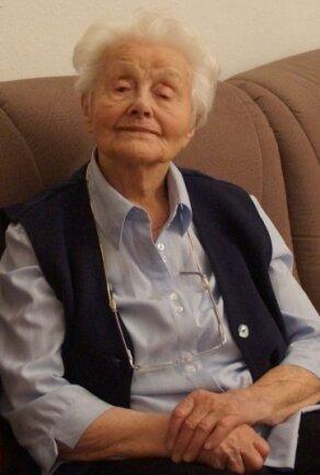 Marianne Looß wird am heutigen Dienstag 100 Jahre alt.