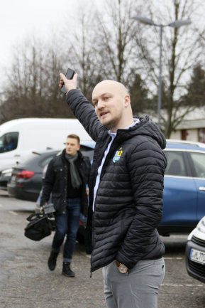 Der neue Sportdirektor Armin Causevic.