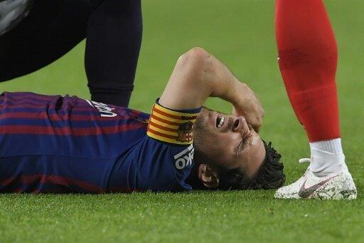 Barcelona übernimmt Spitze - Messi mit Unterarmbruch
