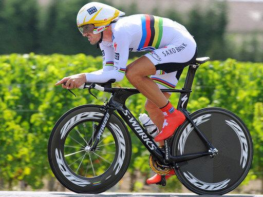Fabian Cancellara wechselt angeblich vom Team Saxo Bank zum Luxembourg Cycling Project