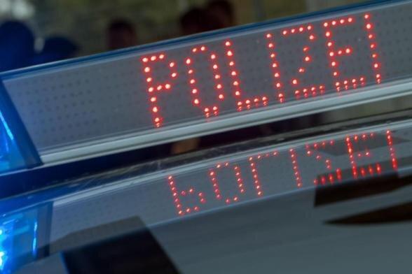 Werdau: Aggressiver Mann verletzt Polizisten