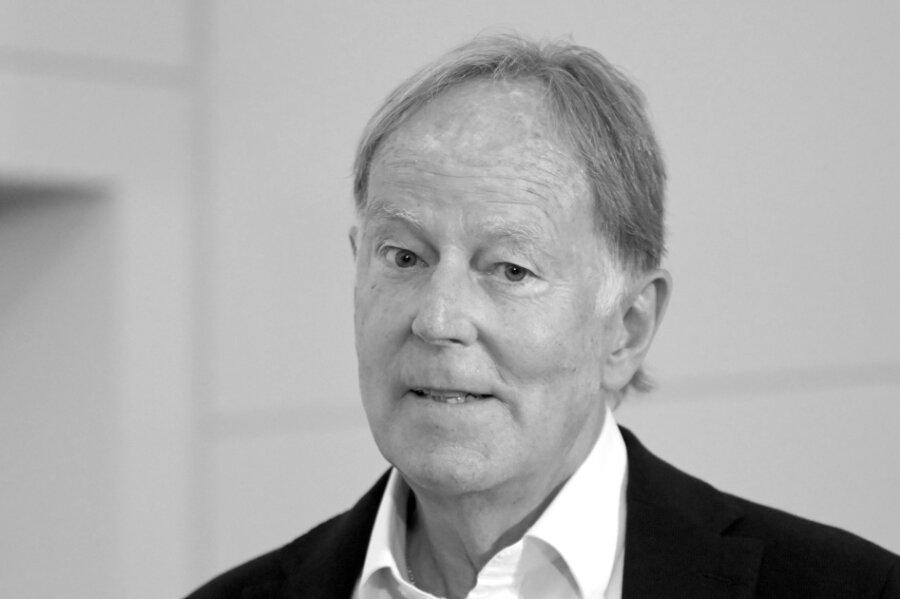 Moderator Wolf-Dieter Poschmann spricht im September 2020 während der Pressekonferenz zum Internationalen Stadionfest ISTAF.