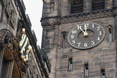 Das Chemnitzer Neue Rathaus.