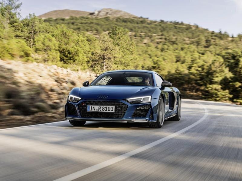 Den Verkauf des überarbeiteten R8 will Audi Anfang 2019 zu Preisen auf Niveau des Vorgängers starten.
