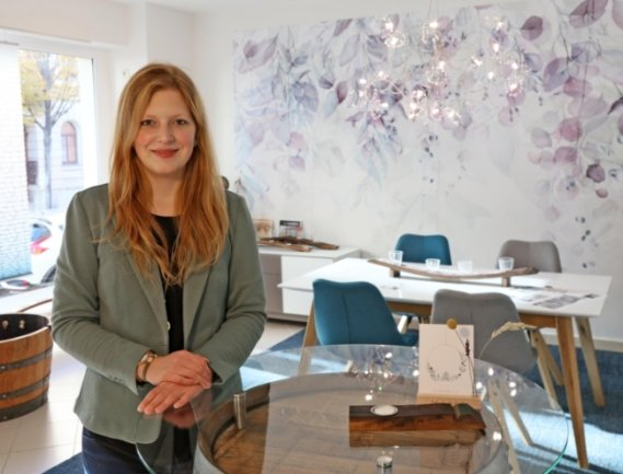 Cathleen Dämmler hat am Wochenende in der Bahnhofstraße ihr Geschäft eröffnet. Der Concept Store vereint verschiedene Marken.