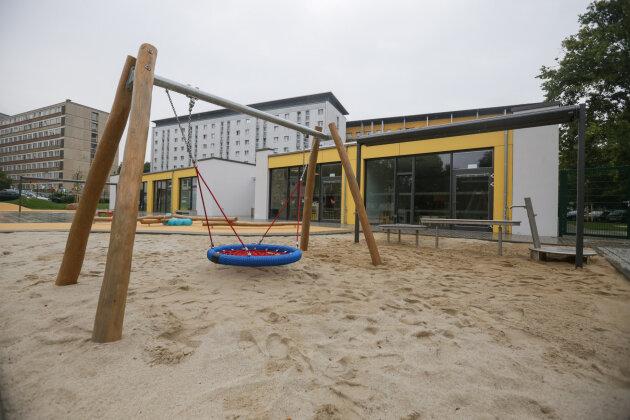 Neue Kita Campulino auf dem Campus der TU Chemnitz eröffnet - Alle 100 Plätze sind vergeben
