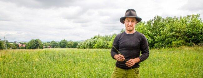 Danilo Braun bewirtschaftet das Land seiner Ahnen. Sein Großvater, ein Landwirt im Vollerwerb, habe mit 7,5 Hektar Land die komplette Familie ernährt.