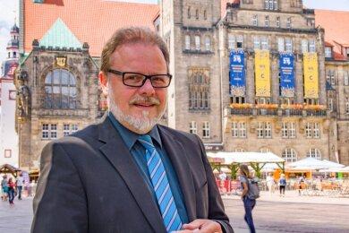 Frank Heinrich ist seit 2009 Bundestagsabgeordneter für die CDU und kandidiert erneut für das Mandat.