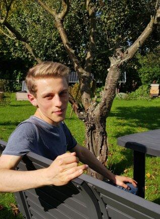 David Drechsel feierte erst vor wenigen Tagen seinen 18. Geburtstag. Er ist damit der jüngste Direktkandidat in Sachsen.