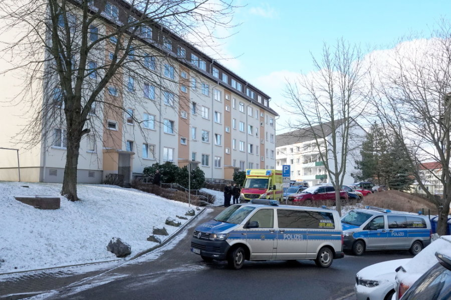 Schusswechsel bei Festnahme: Mann in Chemnitz verletzt