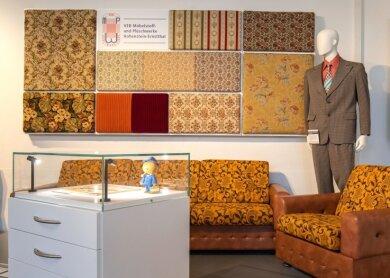 Aus dem Hohensteiner Möbelstoff wurden die typischen Möbel der 1970er- und 1980er-Jahre gefertigt.